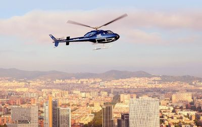 Barcelona: 12-Minute Helicopter Sightseeing Flight