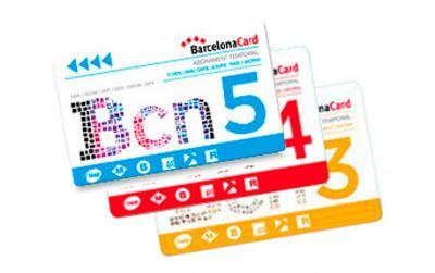 Barcelona Card para 3, 4 o 5 días con descuentos