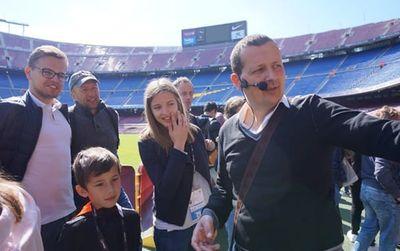 Visita stadio e museo del Camp Nou