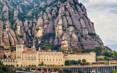 Montserrat & Gaudi's Crypt
