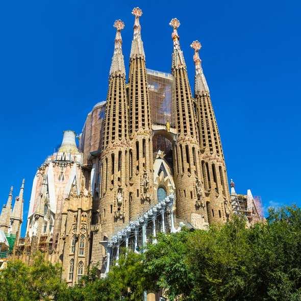 Billet coupe file Sagrada Familia