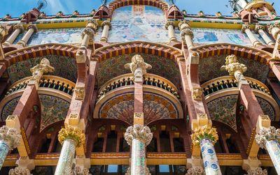 Billet Coupe-file visite guidée Palais de la Musique Catalane
