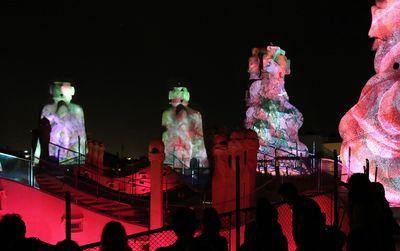Billets pour Gaudi's Pedrera: Spectacle nocturne