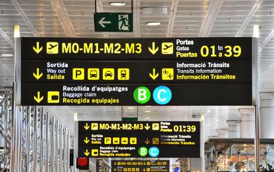 Barcelona Airport BCN