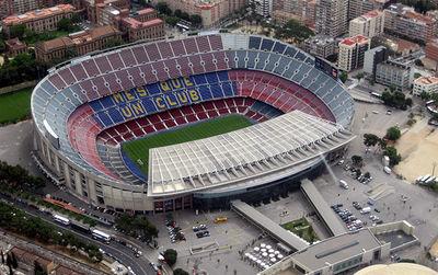 Camp Nou FC Barcelone