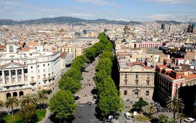 Hotel Barcelone centre ville