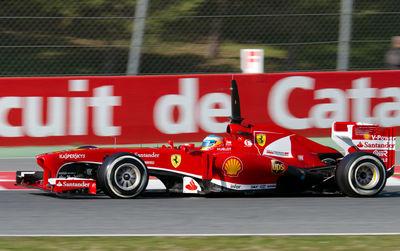 Formula 1 at Montmelo