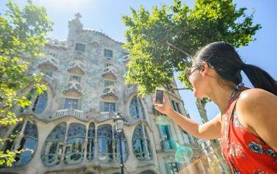 e-bike tour Gaudi Highlights