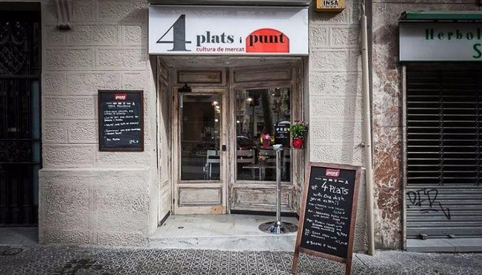 Quatre plats catalanes restaurantes directorio de - Restaurante al punt barcelona ...